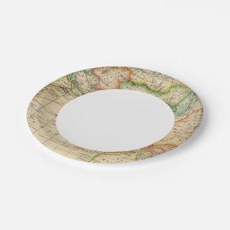 Asia 35 platos de papel