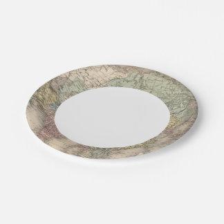 Asia 36 platos de papel