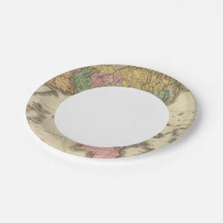 Asia 39 platos de papel