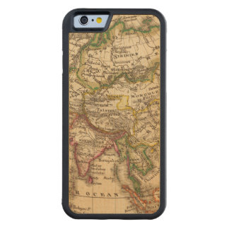 Asia 3 2 carved® maple iPhone 6 bumper case