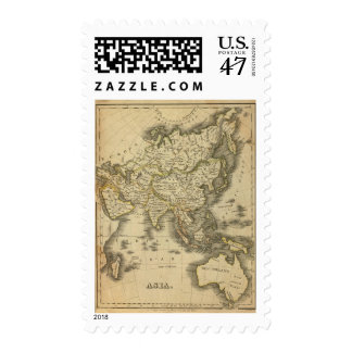 Asia 3 postage stamp