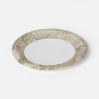 Asia 41 platos de papel