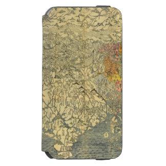 Asia 42 funda billetera para iPhone 6 watson
