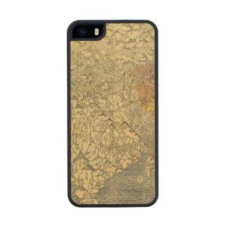 Asia 42 funda de arce carved® para iPhone 5 slim