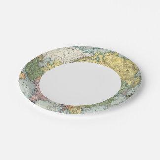 Asia 44 platos de papel