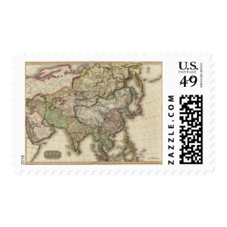 Asia 6 stamps