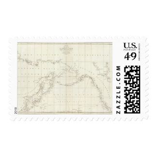 Asia 8 stamps
