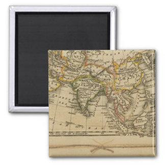 Asia, Africa Fridge Magnet