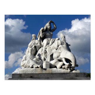 Asia - Albert Memorial Hyde Park London England Postcard