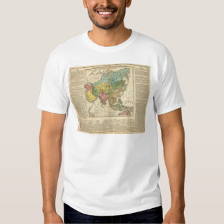 Asia and Empire of Genghis Kahn T Shirts