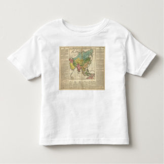 Asia and Empire of Genghis Kahn Tshirts