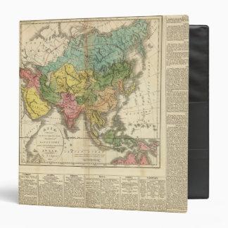 Asia and Empire of Genghis Kahn Vinyl Binder