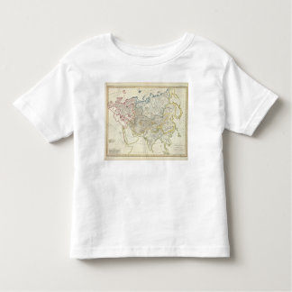 Asia and Europe river drainage Toddler T-shirt
