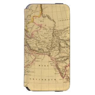 Asia antigua funda billetera para iPhone 6 watson