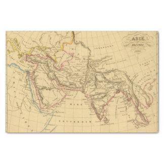 Asia antigua papel de seda