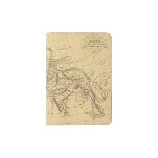 Asia antigua porta pasaportes