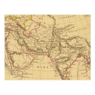 Asia antigua tarjetas postales