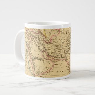 Asia antigua taza de café grande