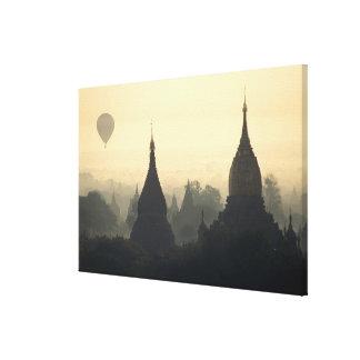 Asia, Birmania, (Myanmar), (Bagan) aire caliente p Impresiones En Lienzo Estiradas