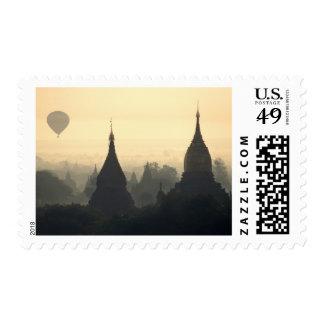 Asia, Birmania, (Myanmar), (Bagan) aire caliente Sellos