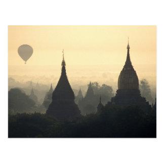 Asia, Birmania, (Myanmar), (Bagan) aire caliente Tarjetas Postales