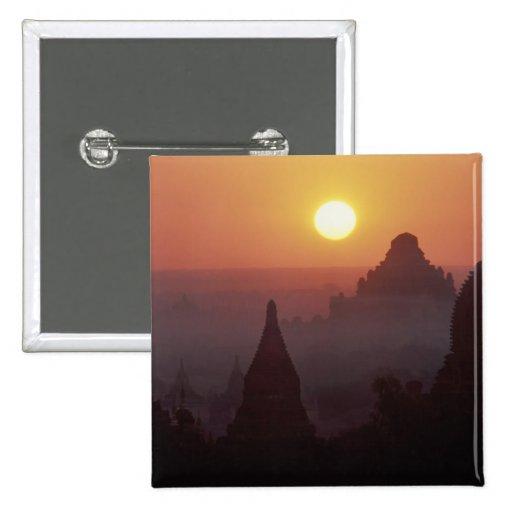 Asia, Birmania, (Myanmar), Pagan (Bagan) el templo Pin Cuadrado