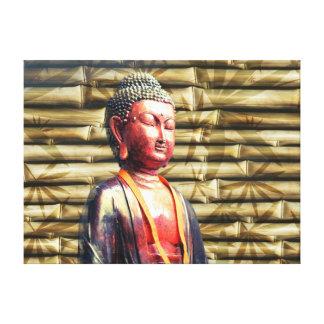 Asia Buda Impresiones En Lona