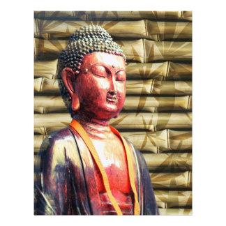 Asia Buda Plantilla De Membrete