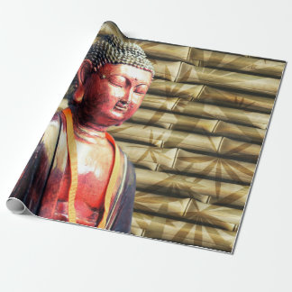 Asia Buda Papel De Regalo