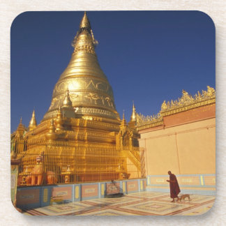 Asia, Burma (Myanmar) Mandalay, Sagaing Hill: Drink Coaster