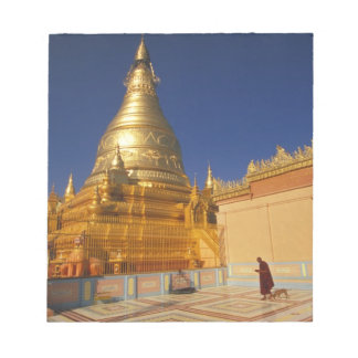 Asia, Burma (Myanmar) Mandalay, Sagaing Hill: Notepad