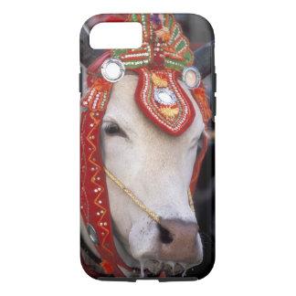 Asia, Burma (Myanmar) Shinbyu ceremony. Bull iPhone 8/7 Case