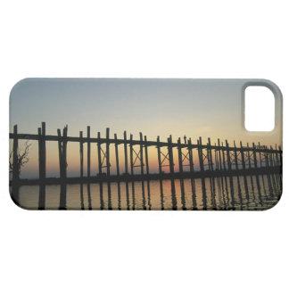 Asia, Burma (Myanmar)  Silhouette of U Bien's 2 iPhone 5 Covers