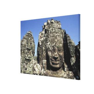 Asia, Cambodia, Siem Reap, Angkor Thom (b. Late Canvas Print