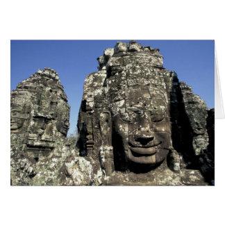 Asia, Cambodia, Siem Reap, Angkor Thom (b. Late Greeting Card