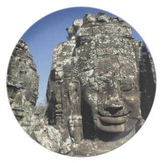 Asia, Cambodia, Siem Reap, Angkor Thom (b. Late Dinner Plate