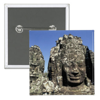 Asia, Cambodia, Siem Reap, Angkor Thom (b. Late Pinback Button