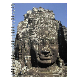 Asia, Cambodia, Siem Reap, Angkor Thom (b. Late Spiral Notebook