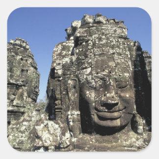 Asia, Cambodia, Siem Reap, Angkor Thom (b. Late Square Sticker