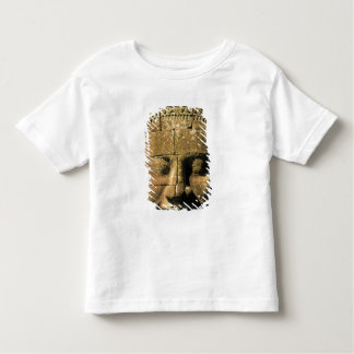 Asia, Cambodia, Siem Reap. Angkor Thom, heads of 2 Shirt