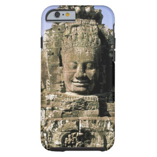 Asia, Cambodia, Siem Reap. Angkor Thom, heads of Tough iPhone 6 Case