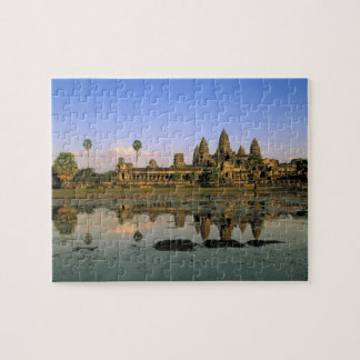 Asia, Cambodia, Siem Reap. Angkor Wat. 2 Jigsaw Puzzle