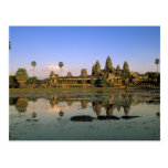 Asia, Cambodia, Siem Reap. Angkor Wat. 2 Post Cards