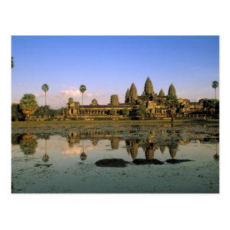 Asia, Cambodia, Siem Reap. Angkor Wat. 2 Postcard