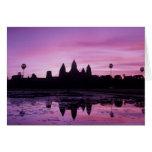Asia, Cambodia, Siem Reap, Angkor Wat (b. 12th 2 Card