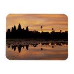 Asia, Cambodia, Siem Reap, Angkor Wat (b. 12th Magnets