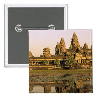 Asia, Cambodia, Siem Reap. Angkor Wat. Button