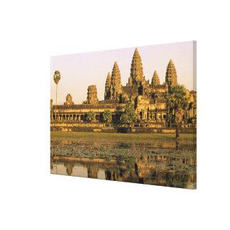 Asia, Cambodia, Siem Reap. Angkor Wat. Canvas Print