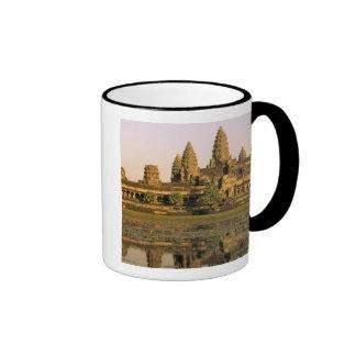 Asia, Cambodia, Siem Reap. Angkor Wat. Ringer Coffee Mug
