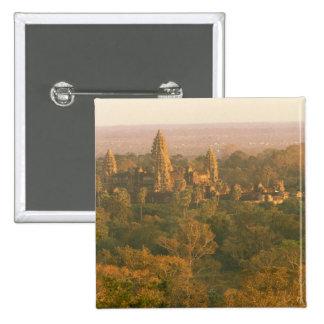 Asia, Cambodia, Siem Reap. Angkor Wat. Pinback Button